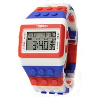 Reloj Bloque Digital azul XG007