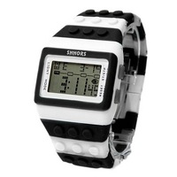 Reloj Bloque Digital blanco XG010