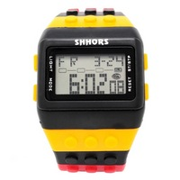 Reloj Bloque Digital negro XG013