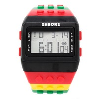Reloj Bloque Digital negro XG014