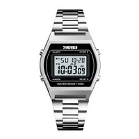 RELOJ Digital NECK - PLATEADO