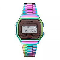 RELOJ DIGITAL RAINBOW - TORNASOL