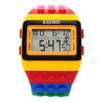 Reloj Bloque Digital Multicolor XG005