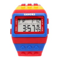 Reloj Bloque Digital Multicolor XG001